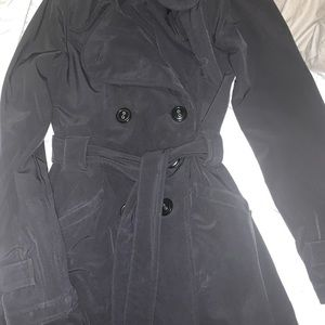 Lululemon long pea coat
